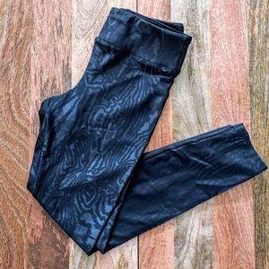 Koral Black Animal Print Leggings NWOT